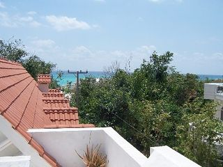 Playa del Carmen house photo - Ocean view from rooftop deck