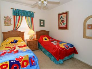 Windsor Palms villa photo - Mickey, Pooh Bear, Tigger and Piglet welcome you