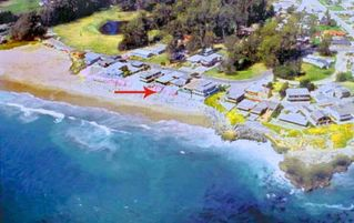 Aerial View of Home - Santa Cruz house vacation rental photo