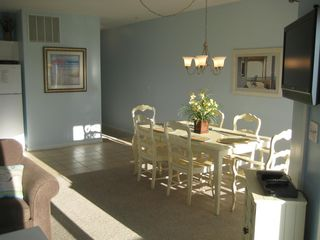Wildwood Crest condo photo - Full dining room table seating for the entire family!