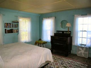 Wolfeboro cottage photo - King Bed in West Facing Bedroom