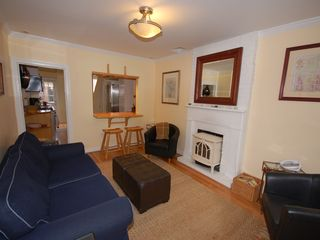 Downtown - Washington DC townhome photo - Living room with gas stove