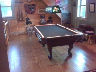 Claytor Lake cabin photo - Pool Table