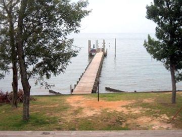 Magnolia Springs house rental - View from Deck
