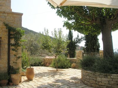 Traditional stone house in mountain village, privacy, beautiful views
