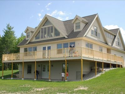 Bridgton house rental - View of Mountain House (newly built!)