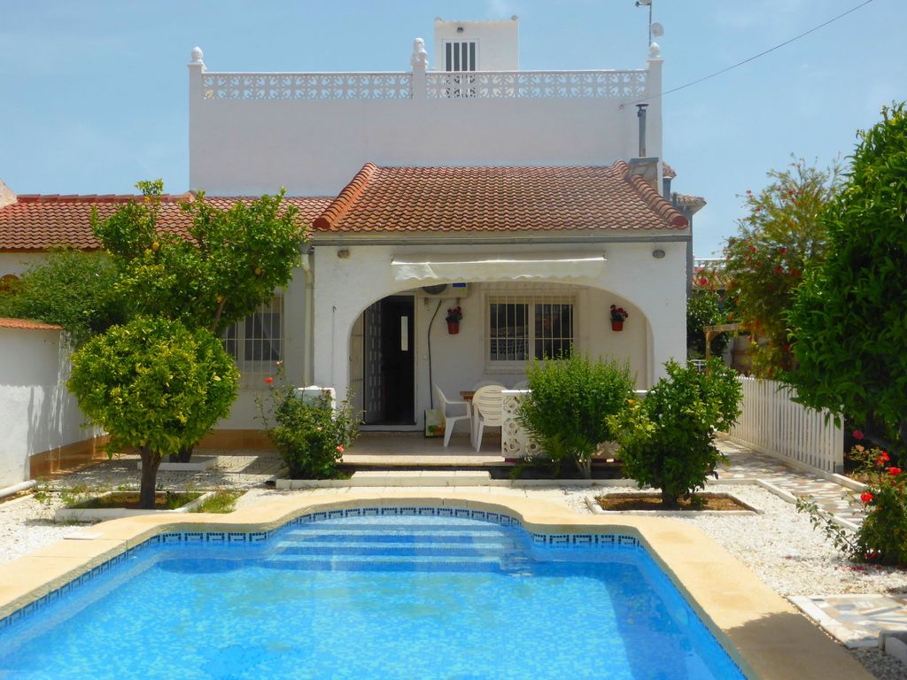 Spanish villa with own private pool in los vrbo for Spanish villa house