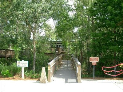 Naturalist Office & Visitor Center for Six Mile Cypress Preserve, 1 mi from home