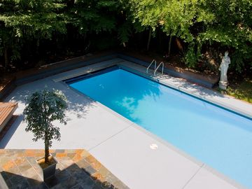Over-sized Swimming Pool