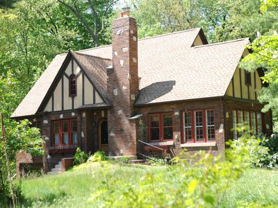Beverly Shores house rental - 1930 vintage house in the middle of the woods