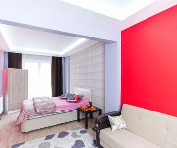 Brand New Apartment 1+0 in New Building on the Avenue in Bayrampasa