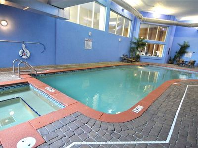 Indoor pool available to resort guests