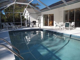 Briarwood Naples house photo - large pool area in this vacation rental
