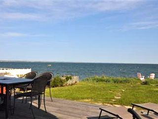 Provincetown condo photo - Deck to yard to beach!