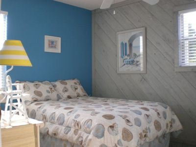 Three well appointed, beach inspired rooms will sleep six comfortably