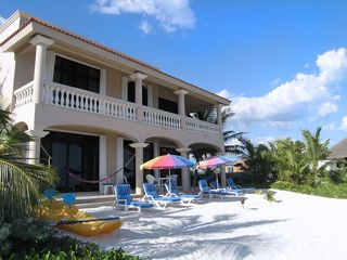 Tulum villa photo - Beachside view