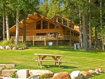 Sandpoint house rental - WPGR main lodge