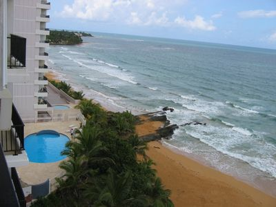 Incredible Oceanfront 3 BD 2BA Condo Near Casinos - El Yunque Rainforest