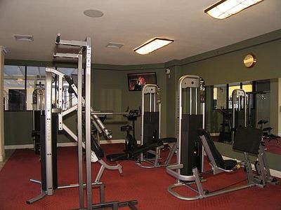 State of the Art Gym with Flat Screen TV's