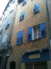 Grasse apartment photo - 16th century building right in the center downtown, apart second floor