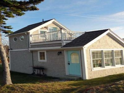 This is Sand Dollar. The smallest cottage with 1 bedroom and 1 bath.