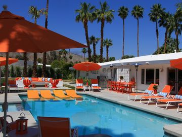 Palm Desert house rental - Take a dip in the pool, listen to your favorite music and enjoy the Desert sun!