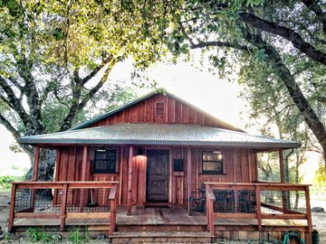 Fair Play house rental - The Crush Pad Front Porch- Vacation Rental amongst FairPlay Vineyards!