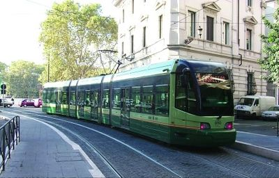 Tram Number 8. You can take it and reach the historical center in a few minutes