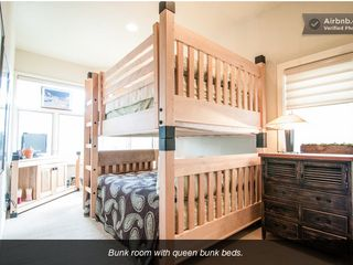 Deer Valley house photo - BUNK ROOM WITH QUEEN BEDS