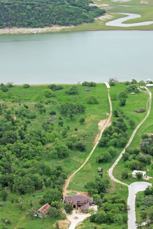 Gradual slope to lake travis with incredible views