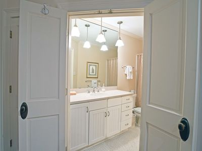 Full bathroom in the Master in the 2BD/2BA home.