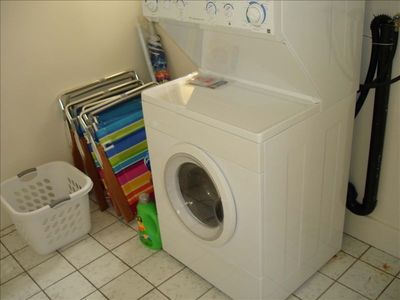 Separate Laundry room in the unit!