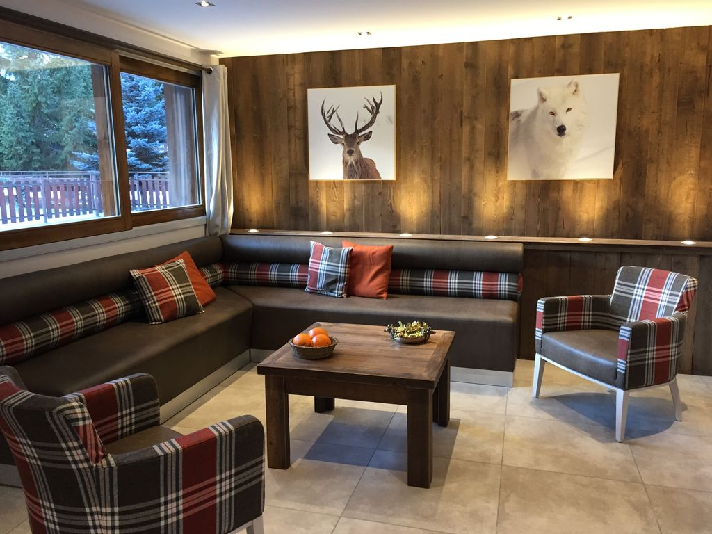 Apartment flat valloire 6128717 - Amenagement cuisine studio montagne ...
