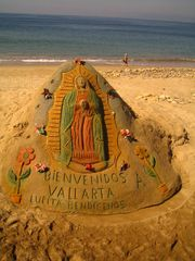 Puerto Vallarta condo photo - World Famous Sand Sculptures just across the street !