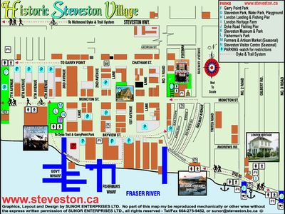 Check out all the historic sites Steveston has to offer at your door step!