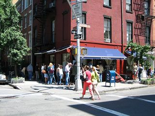 West Village apartment photo - Famous Magnolia Bakery right across the street.