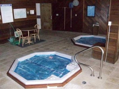 Two Jacuzzi spas