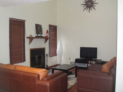 Bushkill townhome rental - Living room