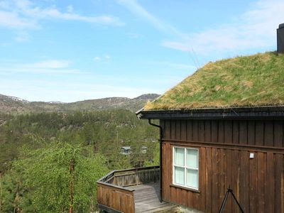 Vacation home Bortelid  in Åseral, Southern Norway - 10 persons, 4 bedrooms