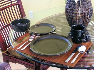 Bonita Springs condo photo - Dining Room Table & Dinnerware