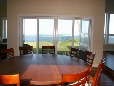 Dinning room with view of Ocean