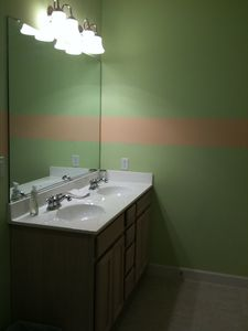 Vacation Homes in Ocean City condo rental - Guest bathroom has double sink