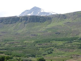 Northwest Iceland apartment photo - Súlur mountain summer view