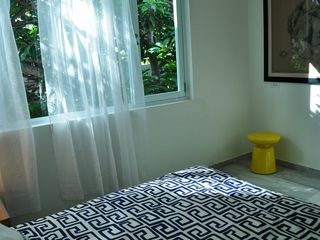 San Juan apartment photo - Master bedroom with a queen bed,