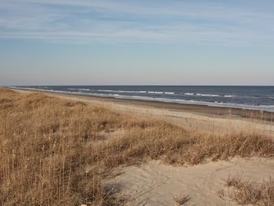 Wide Open Beach from Dune at property line