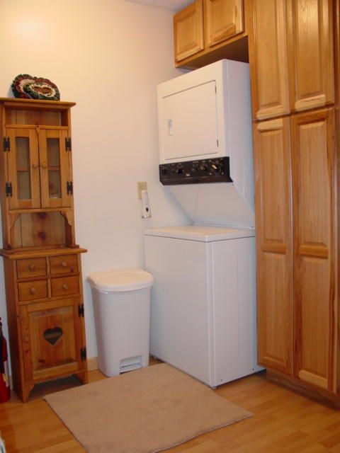 Laundry area to keep your clothes clean and fresh.