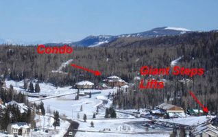 Brian Head condo photo - Walk to Giant Steps Lifts & Lodge or Ride the Convenient FREE Brain Head Shuttle