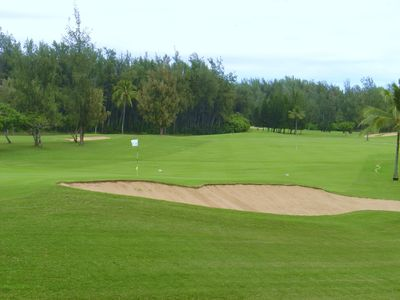 Two Professional Grade golf courses at Turtle Bay Resort, 6 miles away!
