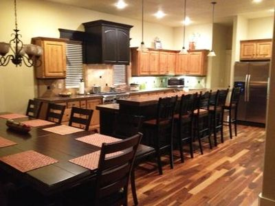 Kitchen and Dining Area (Seating for 17)