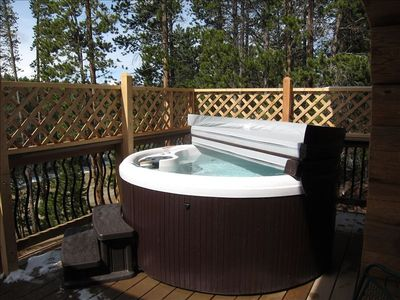 New 2012 Hot Tub for Relaxing after an active day!